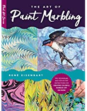 The Art of Paint Marbling: Tips, techniques, and step-by-step instructions for creating colorful marbled art on paper: 3
