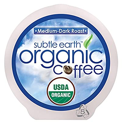 Cafe Don Pablo Subtle Earth Organic Gourmet Coffee K-Cups