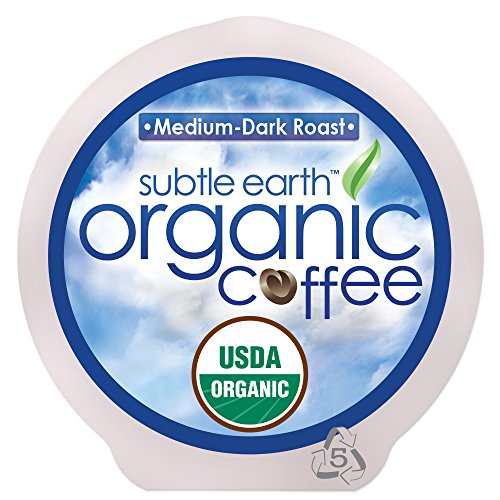 Cafe Don Pablo 84 Count K-Cups, Subtle Earth Organic Gourmet Coffee Medium-dark Roast, Keurig Brewers 2. 0 Compatible USDA Certified Organic Coffee K-cup 84 ct. (Medium-Dark Roast, 84 Count)