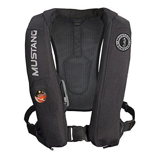 (Mustang Survival Mustang Elite Inflatable Pfd Automatic Black)