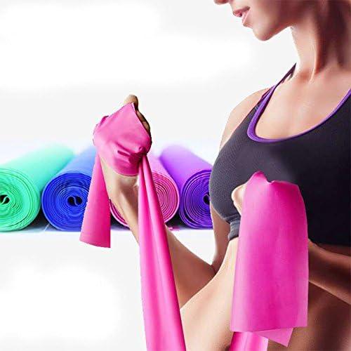 color aleatorio Correa el/ástica de goma para yoga LIZHOUMIL