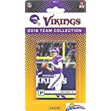 Minnesota Vikings 2018 Panini NFL Football Factory Sealed Limited Edition 12 Card Complete Team Set Kirk Cousins, Stefon Digs, Dalvin Cook, Kyle Rudolph & Many More! WOWZZER!