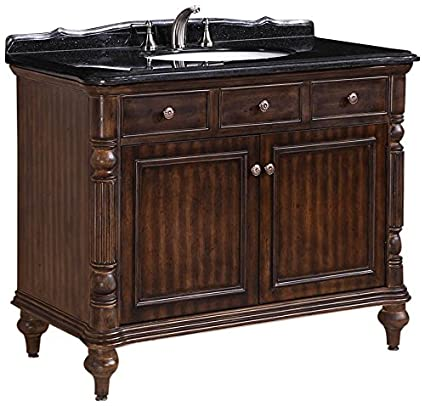 Legion Furniture WH2747-WALNUT Solid Wood Sink Vanity With Granite on bathroom double sink tops, home depot bathroom sink tops, sinks for granite countertops, discount bathroom vanity tops, tiled bathroom vanity tops, backsplash tile vanity tops, stone sink tops, bathroom sinks and vanities with tops, 79 double sink vanity tops,