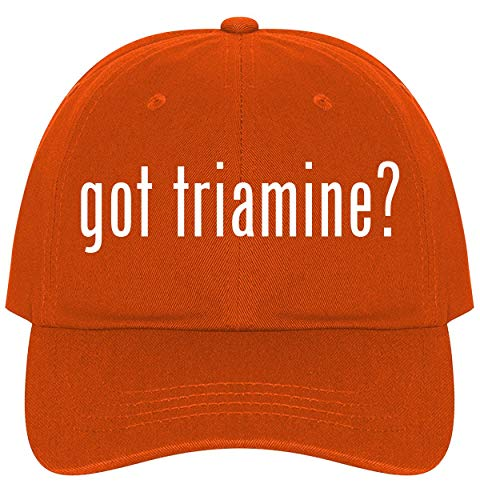 The Town Butler got Triamine? - A Nice Comfortable Adjustable Dad Hat Cap, Orange