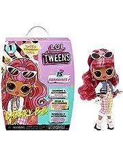 LOL Surprise Tweens docka – 15 överraskningar – inklusive kläder, tillbehör, hårborste, klädhängare, dockstativ och mer – fantastisk present till barn – Cherry BB