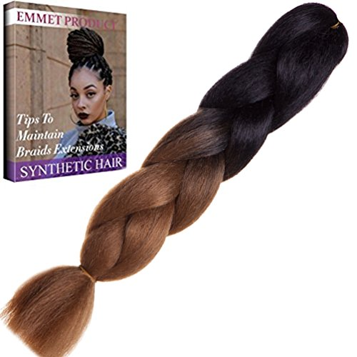 Emmet Kanekalon Synthetic Extension Included