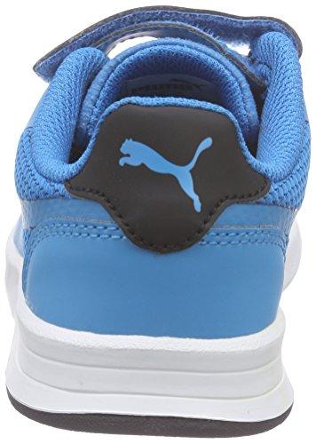 Puma Icra Evo V Kids - Zapatillas Unisex Niños Azul - Blau (atomic blue-black 01)