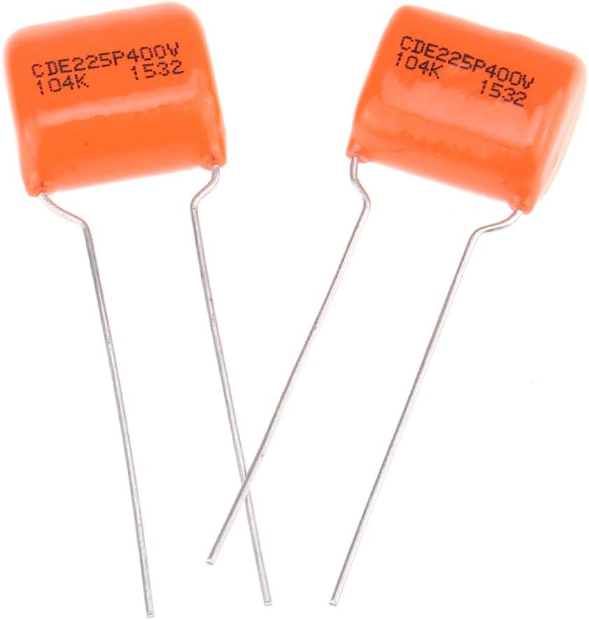 Lot of 10 .01uf 100V 10/% #225PW and//or #225 Orange Drop Capacitor