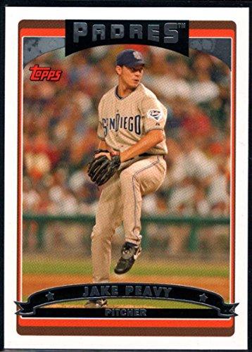 Baseball MLB 2006 Topps #390 Jake Peavy Padres