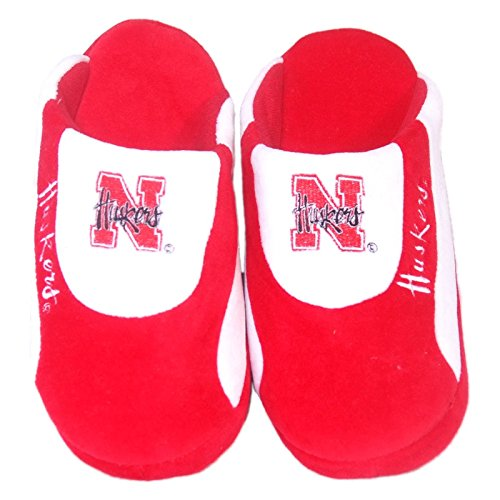 NC State North Carolina White Bedroom Shoes - Small