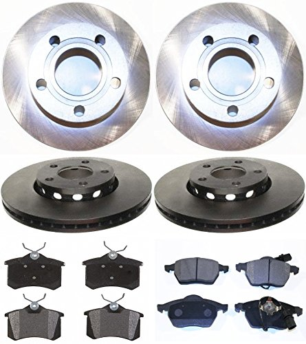Prime Choice Auto Parts BRKPKG0323 Complete Set of Brake Rotors and Performance Pads