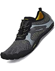 SAGUARO Mens Womens Minimalist Non-Slip Breathable Barefoot Shoes,Gr 36-47