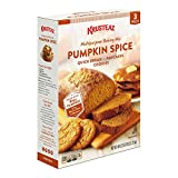 bread baking mix - Krusteaz Pumpkin Spice - 3 (15 oz) Pack Box Multipurpose Baking Mix Pumpkin Spice for Quick Bread Pancakes and Cookies