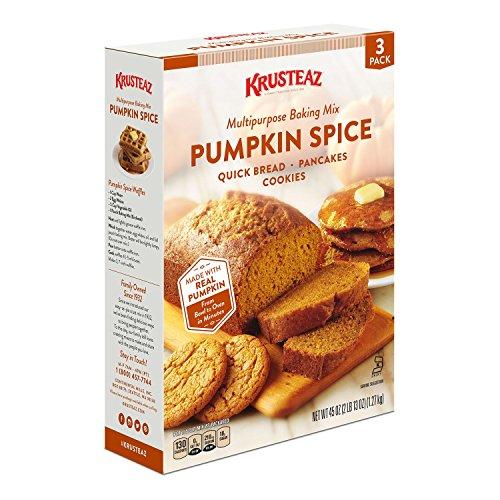 Krusteaz Pumpkin Spice Baking Mix (45 oz.) (pack of 6) by Krusteaz