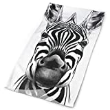 Headband Cute Zebra Head Outdoor Scarf Mask Neck Gaiter Head Wrap Sweatband Sports Headwear