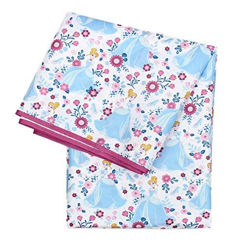 Bumkins Disney Cinderella Splat Mat, Waterproof, Washable for Floor or Table, Under Highchairs, Art, Crafts, Playtime - 42x42