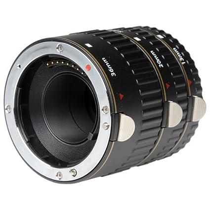 Vivitar - Juego de Tubos de extensión Macro para cámaras Digitales ...