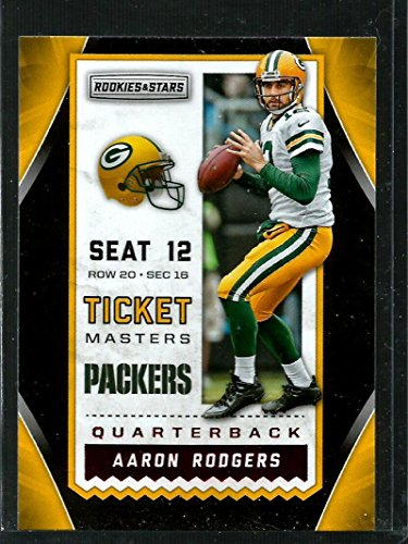 2016-rookies-and-stars-ticket-masters-18-aaron-rodgers-nm-mt-packers
