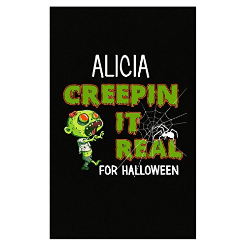 Prints Express Alicia Creepin It Real Funny Halloween Costume Gift - Poster