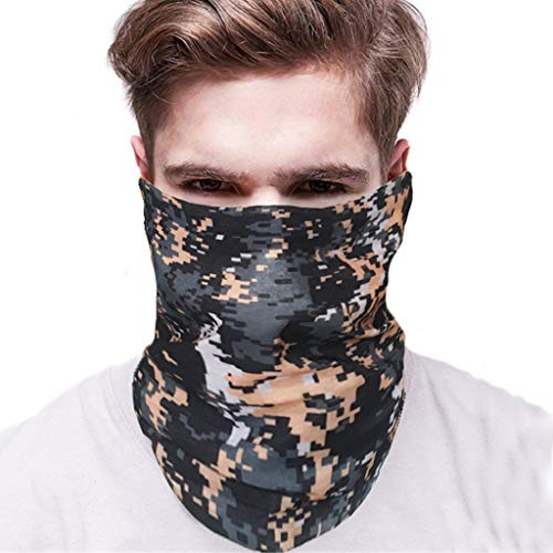 LLguz Multifunction Anti-UV Face Mask Windproof Sun Dust Cold Rain Protection Balaclava for Cycling Hiking Outdoor Motorcycle