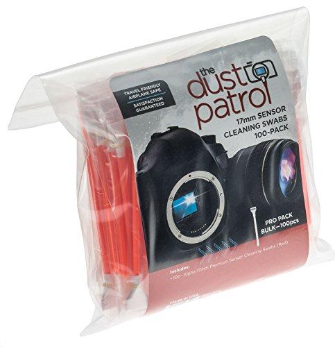 - Alpha 17mm Sensor Cleaning Swabs (100 Bulk pk) (Red)