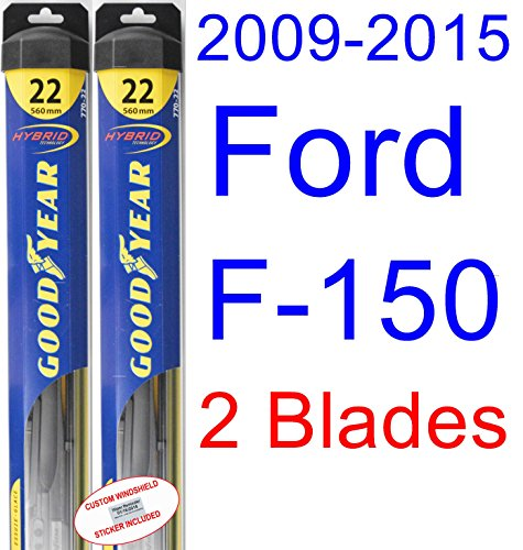 2009-2015 Ford F-150 Replacement Wiper Blade Set/Kit