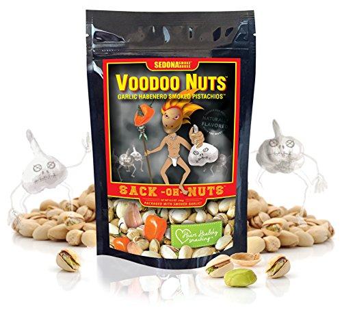 Voodoo Nuts - Habanero Garlic Smoked Pistachios Sack-Oh-Nuts