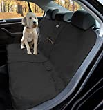 Kurgo Wander Car Bench Seat Cover for Dogs – Stain Resistant – Water Resistant – Universal Fit