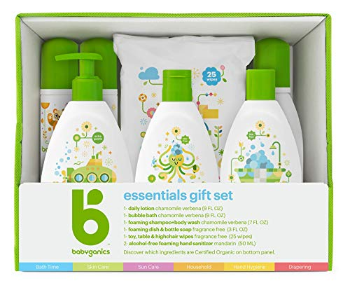- Babyganics Essentials Gift Set