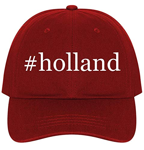 #Holland - A Nice Comfortable Adjustable Hashtag Dad Hat Cap, Red