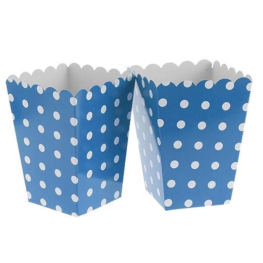 Fenteer 12 x Bolsas de Papel Caja Caja Funda con Lunares ...