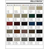 Leather & Vinyl Adhesive Repair Patch Colour Guide