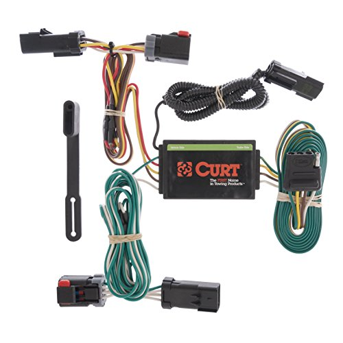 CURT 55530 Vehicle-Side Custom 4-Pin Trailer Wiring Harness for Select Chrysler - Chrysler Hitch Pacifica