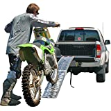 "89"" Single Folding Loading Ramp for Off-Road Motocross, Enduro and Dirt Bikes"