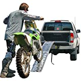 Black Widow AFP-9012 Ramp (Folding Single Runner Motorcycle),1 Pack