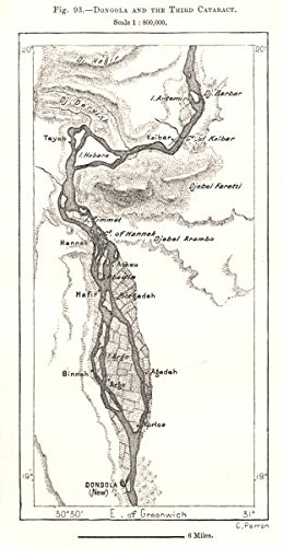 Amazon.com: Dongola and the Third Cataract. Sudan. Sketch map - 1885 on map of elmwood, map of flossmoor, map of dalzell, map of wadi halfa, map of granite city, map of zinder, map of rumbek, map of farmer city, map of south darfur, map of kenema, map of faiyum, map of elburn, map of zeila, map of brownstown, map of kom ombo, map of arthur, map of dallas city, map of future city, map of giant city state park, map of rafah,
