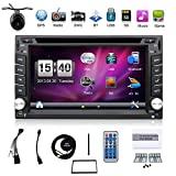 Best Car Navigations - BOSION Navigation product 6.2-inch double din car gps Review