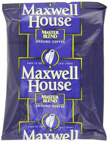 Maxwell House Master Blend Ground Coffee, 1.25-Ounce Packages (Pack of 42) (1.25 Ounce Packages)