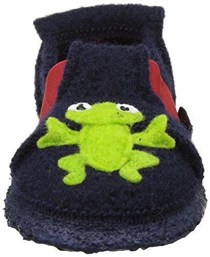 32 Dunkelblau Garçon Frog Nanga Funny Bleu Chaussons Blau 1xqH1vnw0Z