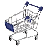 SODIAL(R) Funny Parrot toy bird Supermarket Shopping Intelligence Cart Basket