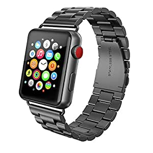 Amazon.com: Apple Watch Band 42mm Stainless Steel, Swees ...