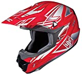 HJC CL-X6 Fulcrum Off-Road Helmet (Red/White/Silver, Large)