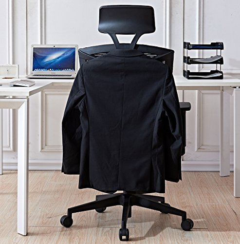 Amazon.com : LSCING Ergonomics High Back Breathable Mesh Office Chair With Coat  Hanger U0026 Adjustable Seat, Blue : Office Products