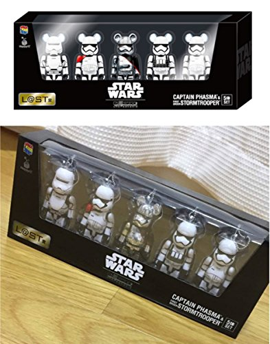 StarWars the best lottery! Last prize! BE@RBRICK 100% 5 body set by BE@RBRICK
