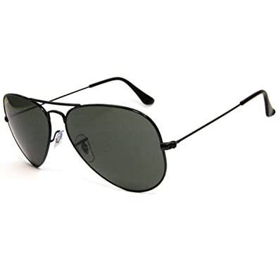 rb3025 g15  Amazon.com: Ray-ban RB3025 L2823 Black Frame and G-15 Lens: Shoes