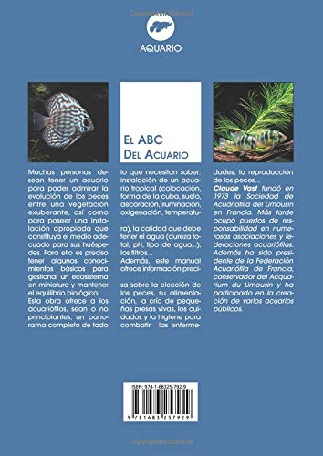 El ABC del acuario (Spanish Edition): Claude Vast: 9781683257929: Amazon.com: Books