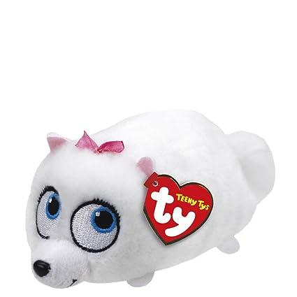 Amazon.com  Ty Teeny Tys The Secret Life of Pets Gidget Stuffed ... 81d0f75e047