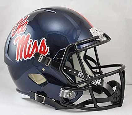 MISSISSIPPI OLE MISS REBELS NCAA Riddell SPEED Full Size Replica Football Helmet