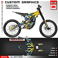 Welcome to Kungfu Graphics factory to customize graphic wraps for your love bike and give it a distinctive look. We have been specialized in designing and producing verhicle decals for more than 5 years, offering fully customizable kits to fi...