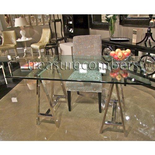 Architect's Desk – Mason Glass Top Desk